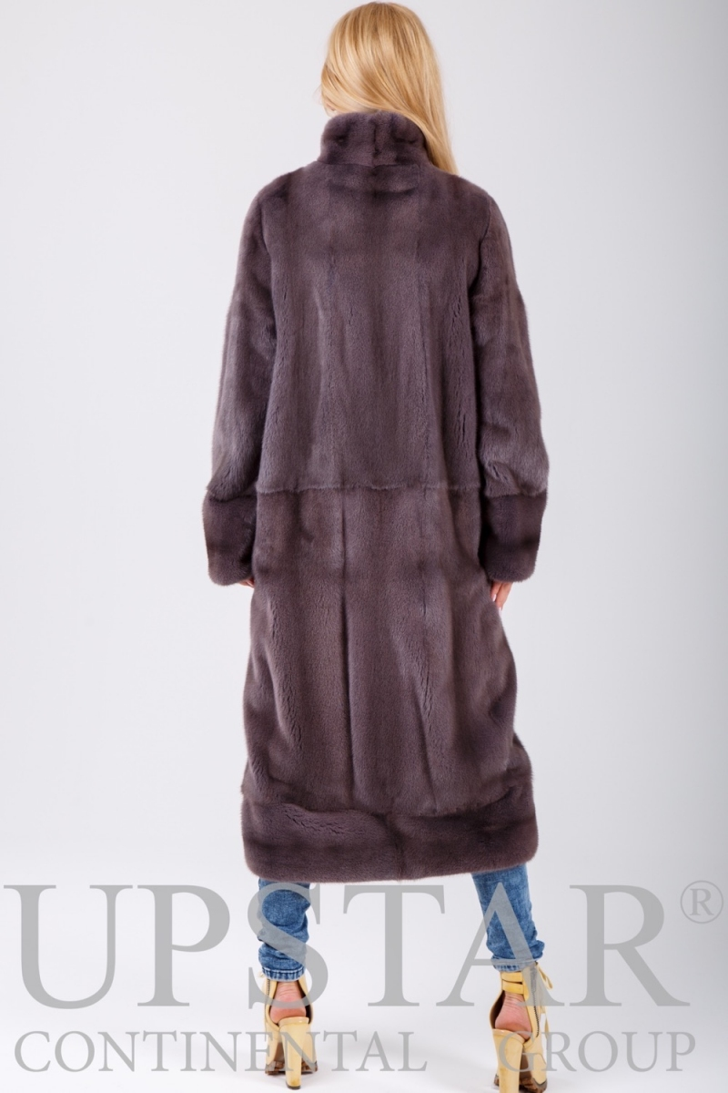 Fur coat 01-05-522-dust pink